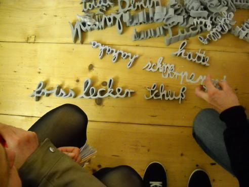 Offene Ateliers: Thekla Rickert und Dirk Pleyer