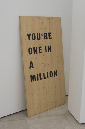 "Thomas Rhube: ""One in a Million"""