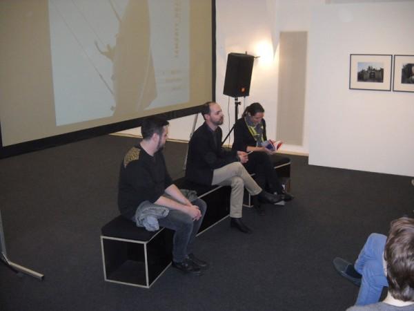 Martin Sturm, Holger Jagersberger and Genoveva Rückert