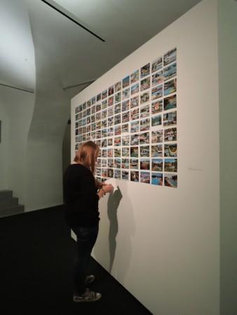 Abbau der letzten Ausstellung...