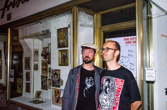 Protagonists Julio Falagan (Valladolid/Spain) and Kurt Lackner (Linz/Austria)